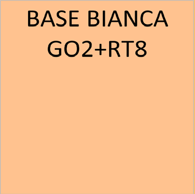 BASE BIANCA GO2+RT8