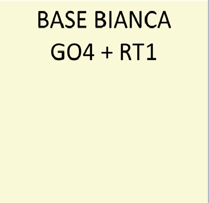 BASE BIANCA GO4+RT1